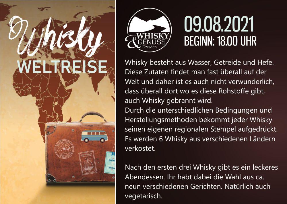 Whiskytasting Irish Fiddler Dresden